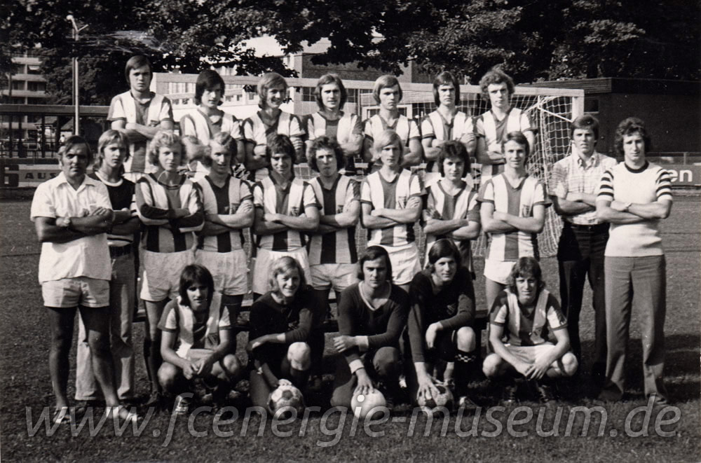 Junioren Saison 1975/76