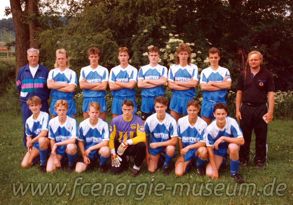 A-Junioren Saison 1991/92