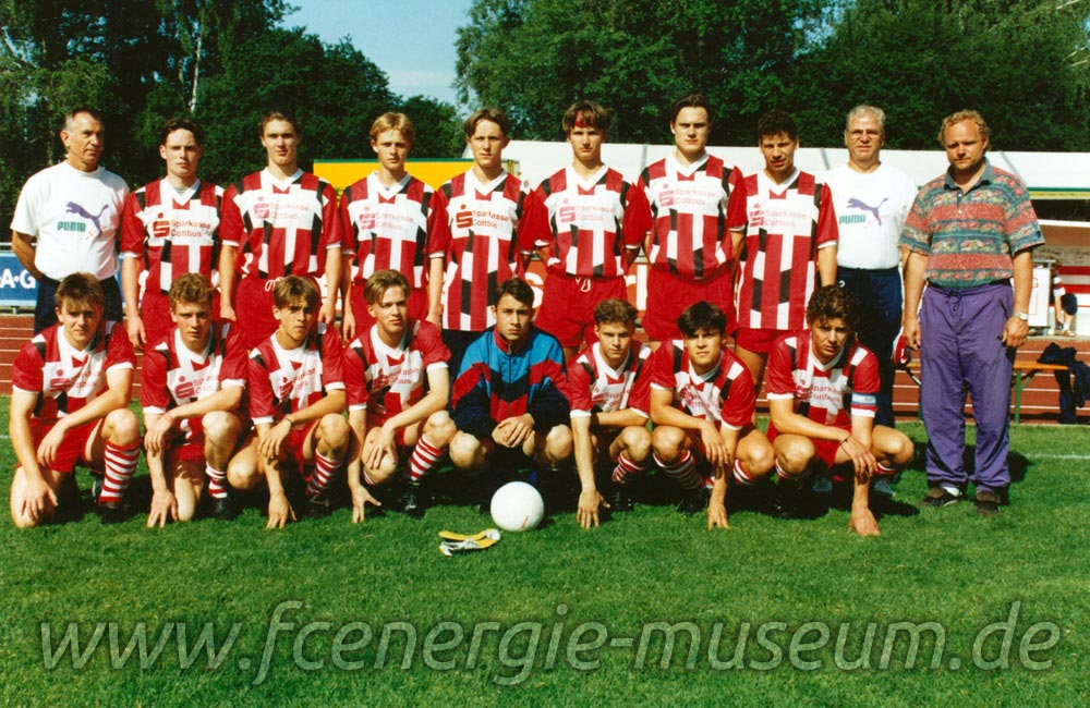 A-Junioren Saison 1992/93
