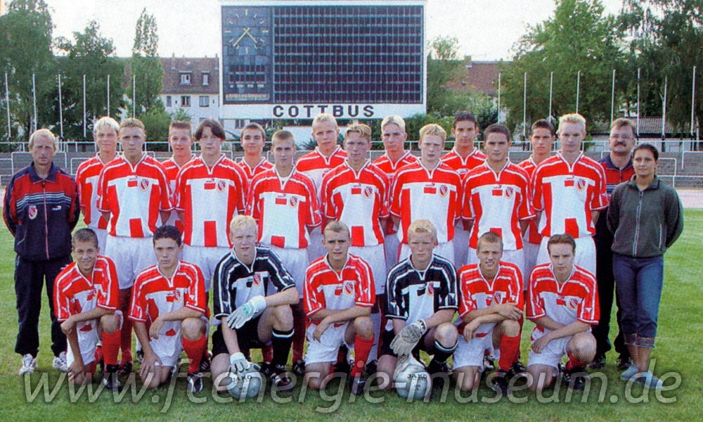 B1-Junioren Saison 2001/02