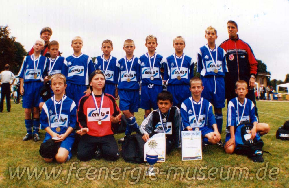 E1-Junioren Saison 2001/02
