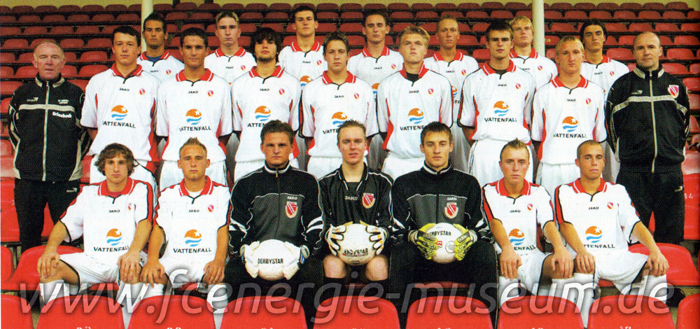 A-Junioren Saison 2002/03