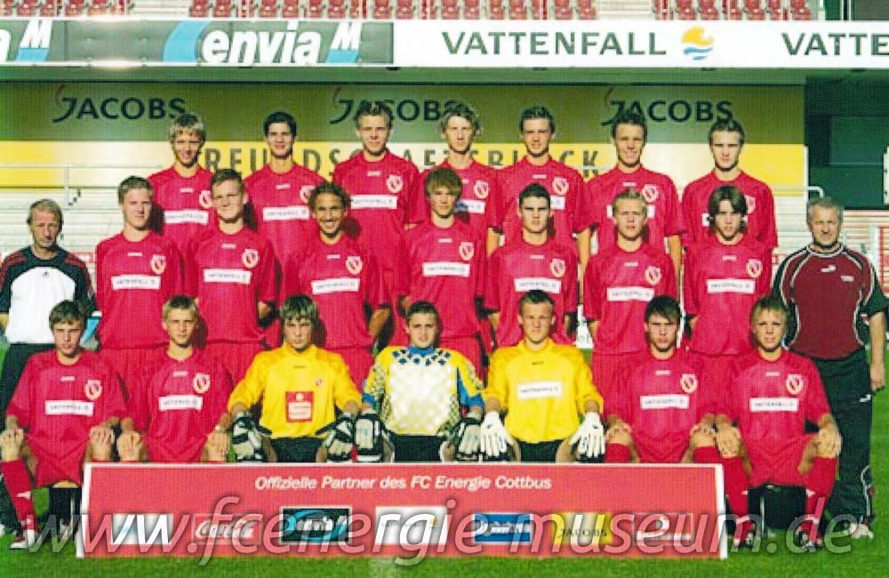 B1-Junioren Saison 2004/05